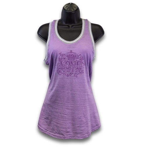 Mills Love My Ride Sporty Tank - Hot Violet