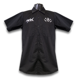 MAX Speed & Glory Work Shirt – Black/White