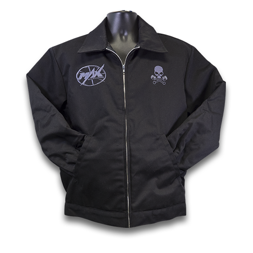 MAX Racing Rebels Jacket - Black/Gunmetal
