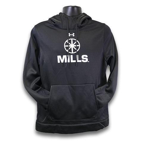 MILLS Under Armour Storm Hoodie - Black