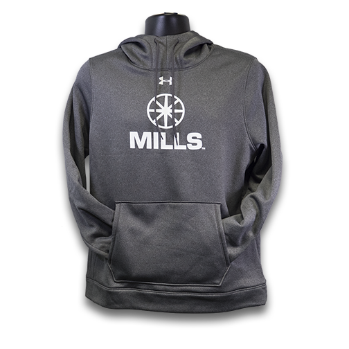 MILLS Under Armour Storm Hoodie - Carbon Heather