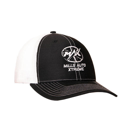 MAX Trucker Cap - Black/White