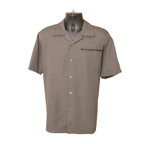 MAX Charcoal Shop Shirt - Charcoal/Black