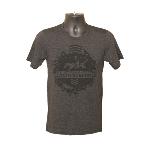 MAX Softprint T-Shirt - Born Free - Charcoal/Black