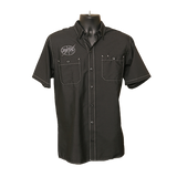 MAX Throttle Threads Shop Shirt - Black/White