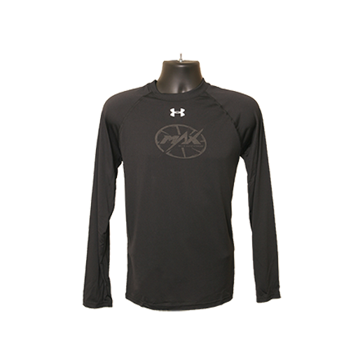 MAX UA Long Sleeve T-Shirt - Black/Black