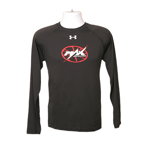 MAX UA Long Sleeve T-Shirt - Black/Red/White