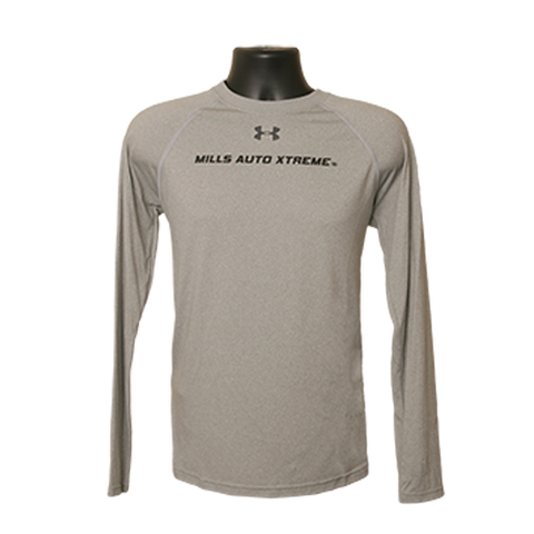 MAX UA Long Sleeve T-Shirt - Gray/Black