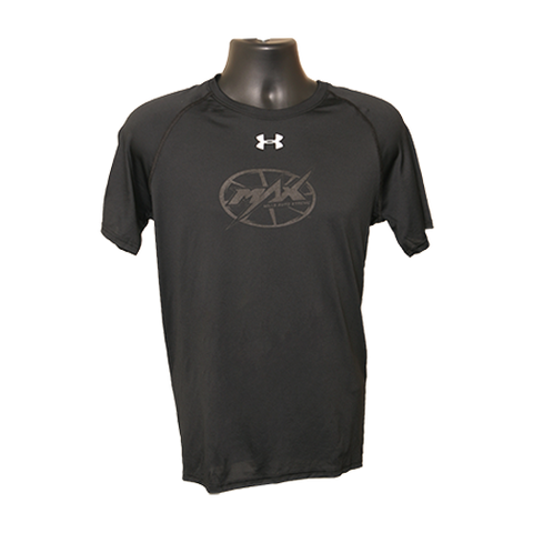 Max UA Short Sleeve T-shirt - Black/Black