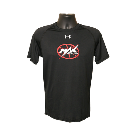 MAX UA Short Sleeve T-Shirt - Black/Red/White