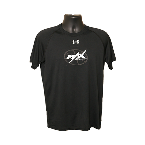 MAX UA Short Sleeve T-Shirt - Black/White