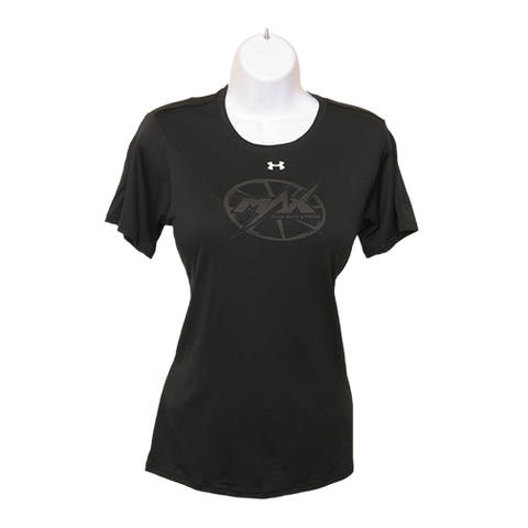 MAX Under Armour SS T-Shirt - Black/Black
