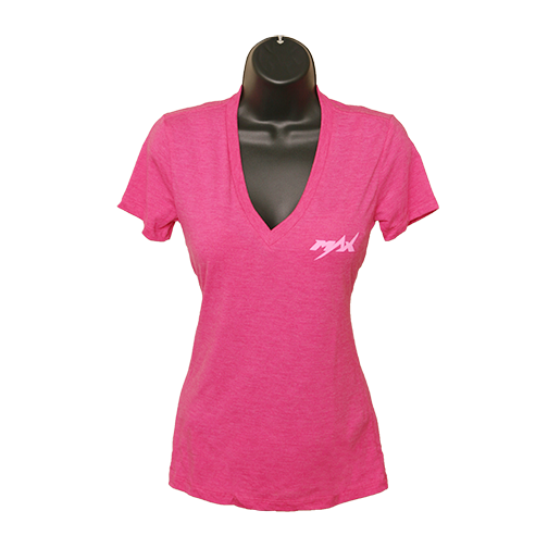 MAX V-Neck T-Shirt - Berry/Pink