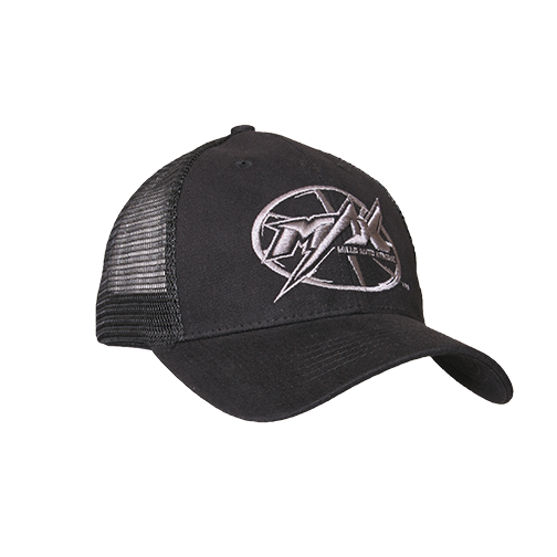 MAX Custom Snap-Back Cap - Black/Black