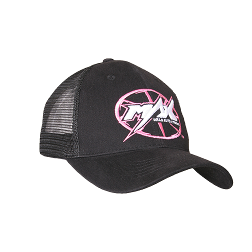 MAX Custom Snap-Back Cap -  Black/Pink/White