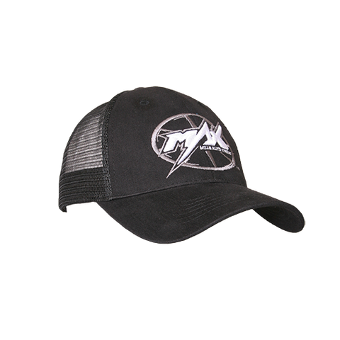 MAX Custom Snap-Back Cap - Black/White
