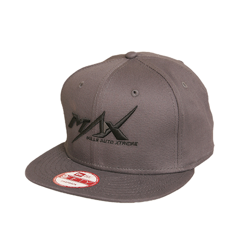 MAX 9Fifty Flatbill Cap - Charcoal/Black