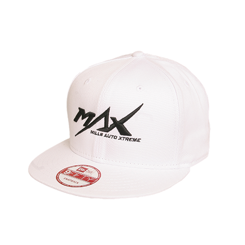 MAX 9Fifty Flatbill Cap - White/Black