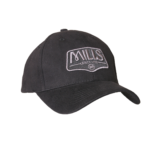 "MILLS Custom ""Since 1922"" Cap -  Black/Black"