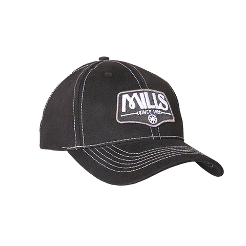 "MILLS Custom ""Since 1922"" Cap -  Black/White"
