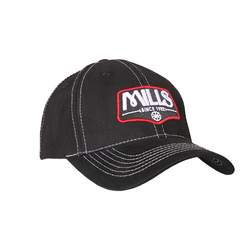 "MILLS Custom ""Since 1922"" Cap -  Black/Red/White"