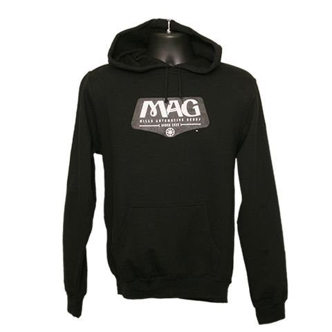 MAG Classic Lightweight Hoodie - Black/White