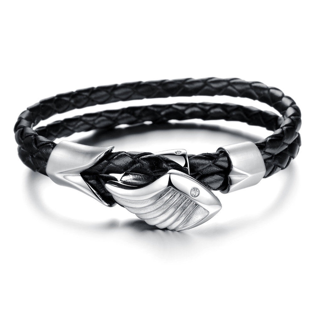Men's Leather Bracelet Collection