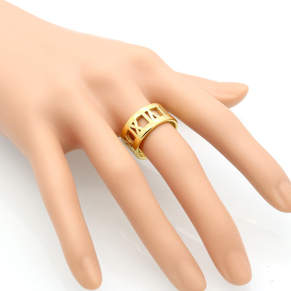 Arithmos Gold Band Ring