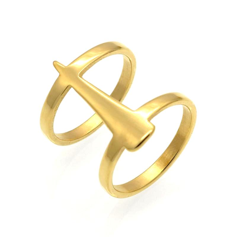 Athena Gold Cusp Ring