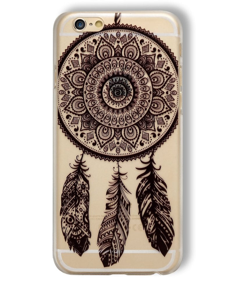DreamCatcher Clear & Black Phone Case for iPhone 6/6S/7/7S