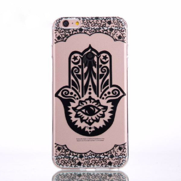 Hamsa Hand Clear Phone Case for iPhone 6/6S/7/7S