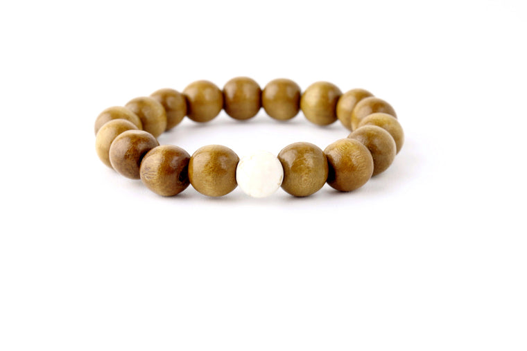 Her Mala SandalWood and Jasper Bracelets