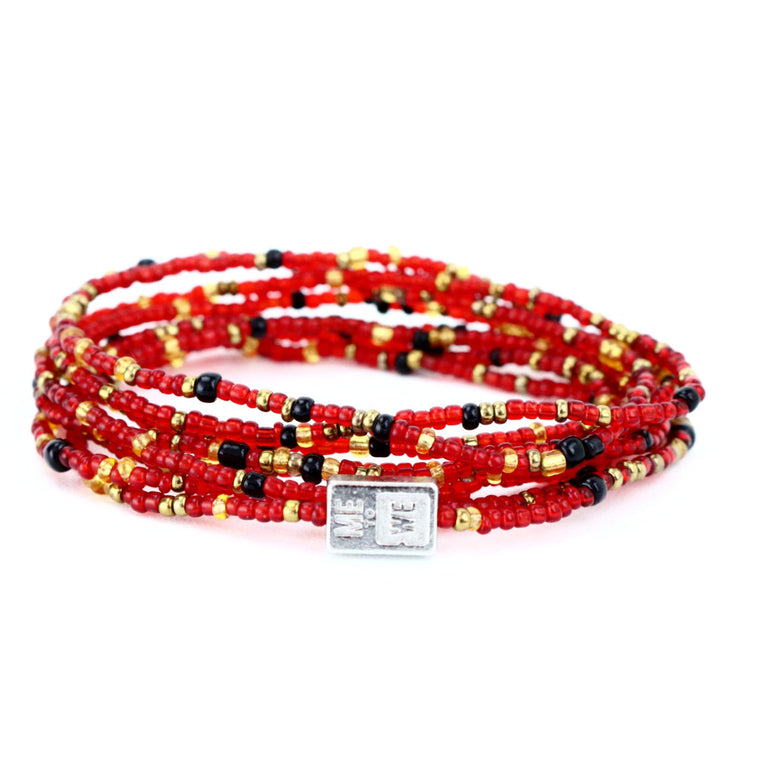 Handmade Rafiki Friendship Red Bracelet Chain