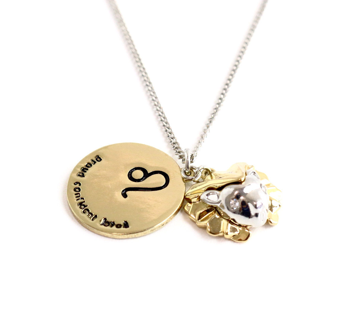 Leo Zodiac Charm Necklace