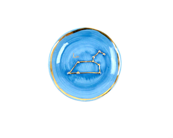 Leo Zodiac Sign Trinket Dish