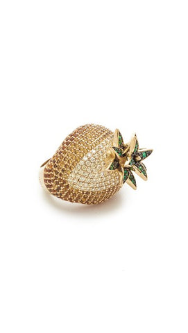 Pineapple Cocktail Ring