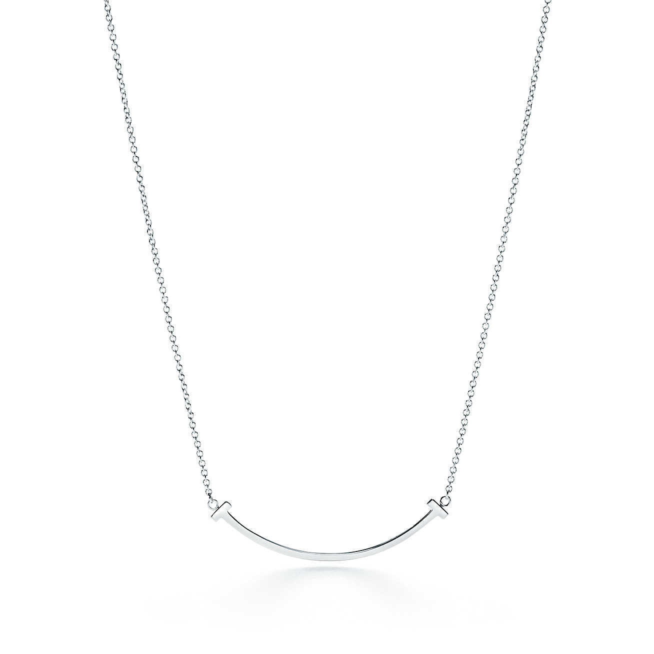The Smile Silver Necklace - Lulugem.com