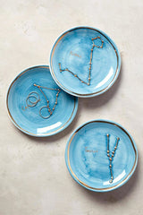 Virgo Zodiac Sign Trinket Dish