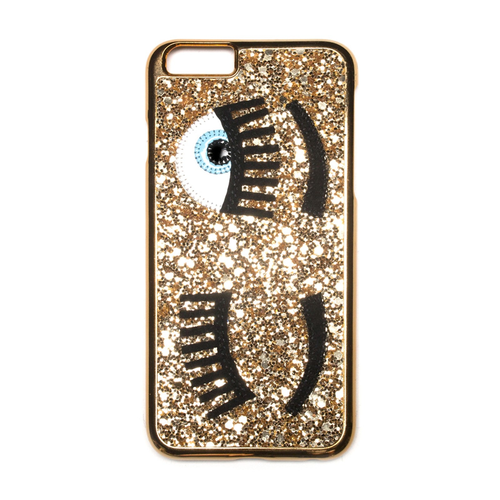Gold Sequins Eyes Phone Case for iPhone 6/6S/7/7S