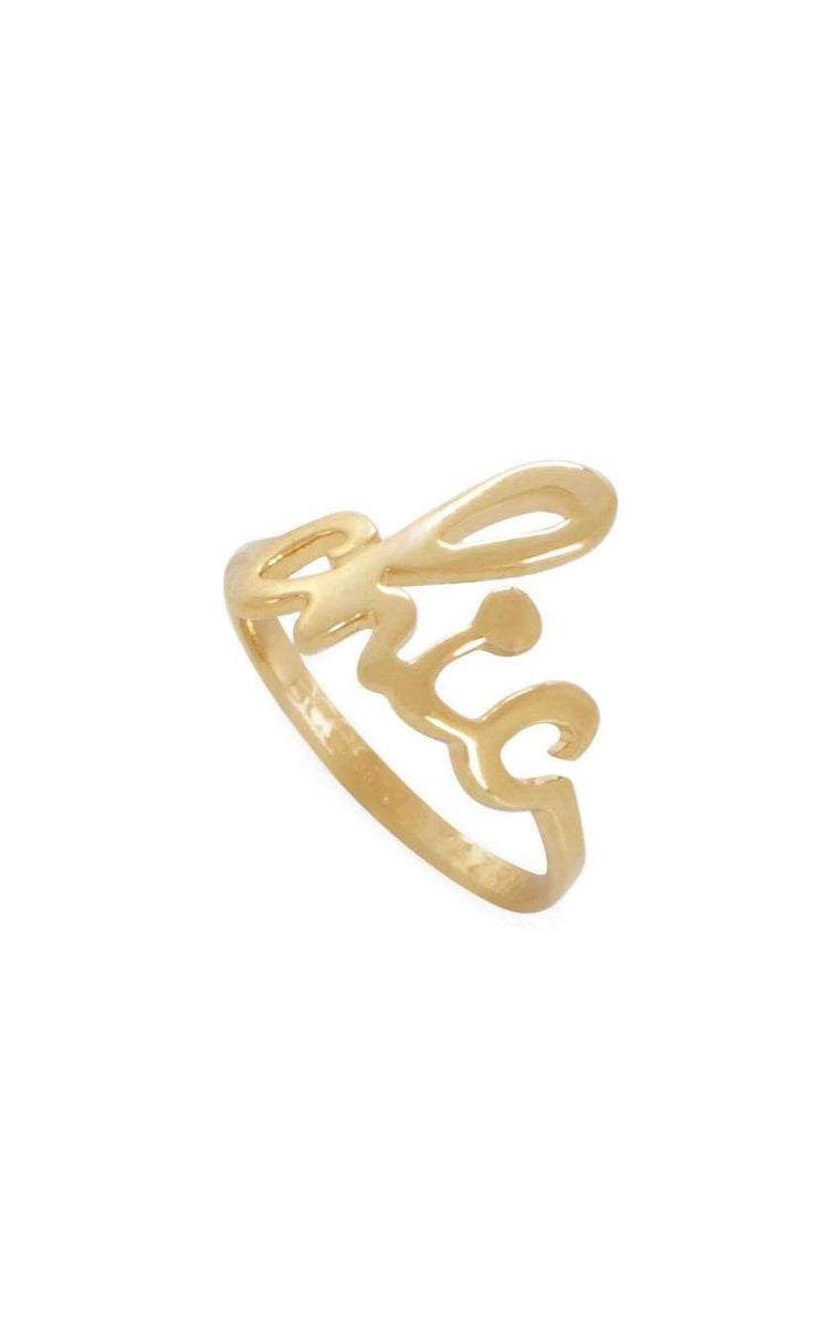 Chic Gold Band Knuckle Ring