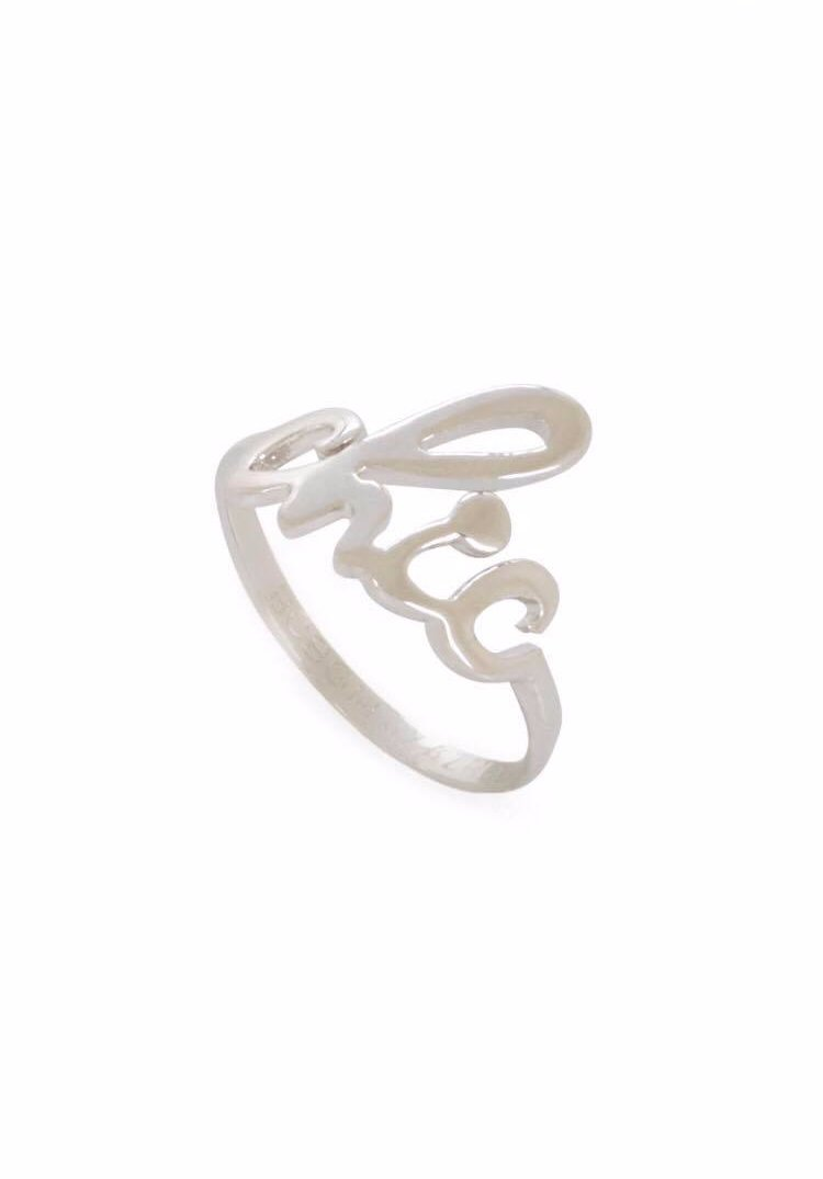 Chic Silver Band Knuckle Ring