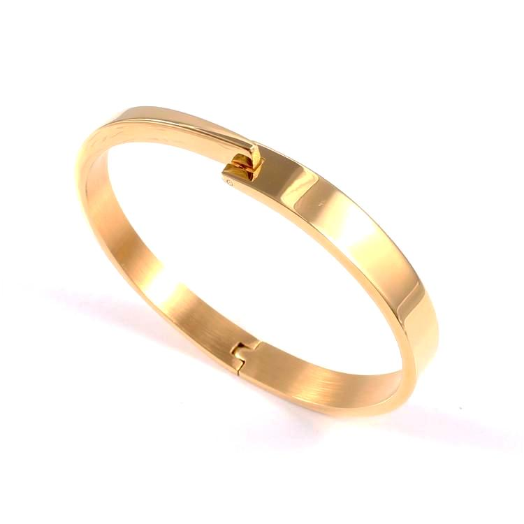 Gold Love Bangle Bracelet
