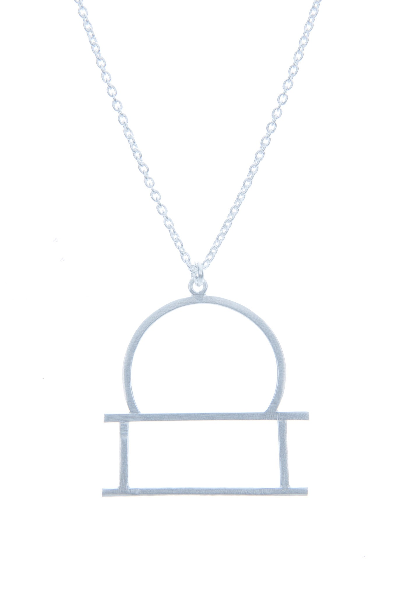 Libra Zodiac White Gold Necklace - Lulugem.com