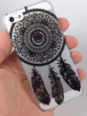 DreamCatcher Clear & Black Phone Case for iPhone 6/6S - Lulugem.com