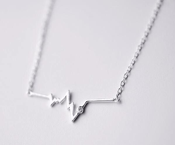 Wave HeartBeat Necklace
