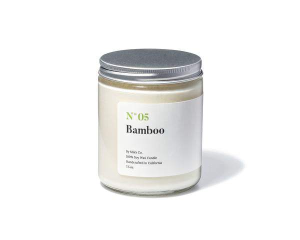 N°05 Bamboo Candle