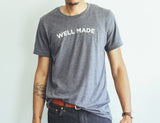 Heather Navy Proper Play Well Made Tee