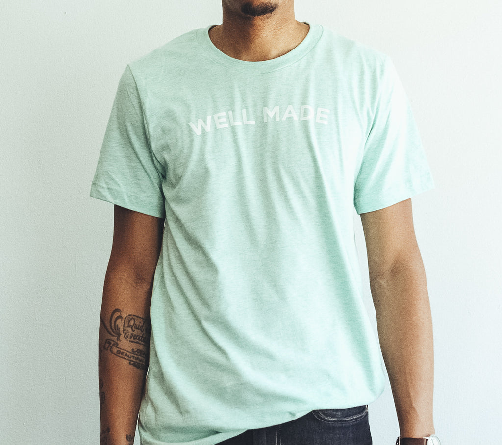 Mint Proper Play Well Made Tee