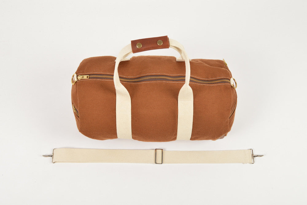 Nutmeg Knit Duffel Bag