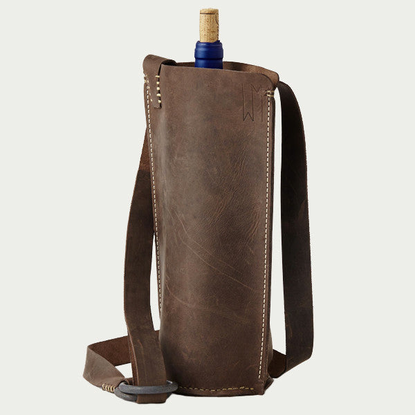 BYOB Brown Single Bottle Carrier